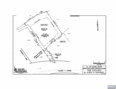 Demarest Residential Lots & Land For Sale: 379 Hillside Avenue