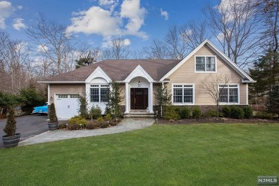 Bergen County Single Family Home For Sale: 826 Rivervale Road