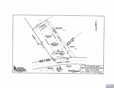 Demarest Residential Lots & Land For Sale: 375 Hillside Avenue