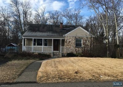 Passaic County Single Family Home For Sale: 66 James Terrace