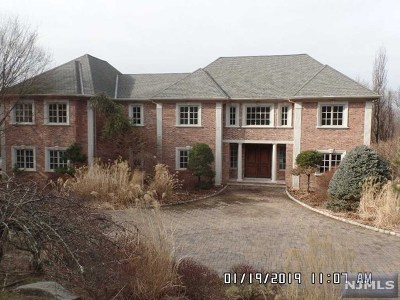 Norwood NJ Single Family Home For Sale: $1,675,000