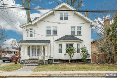 Fort Lee Single Family Home For Sale: 420 Bluff Road