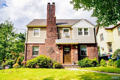 Rutherford Single Family Home For Sale: 166 Belford Avenue