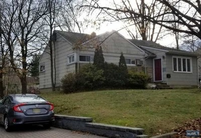 Cresskill Single Family Home For Sale: 8 Mountainview Road