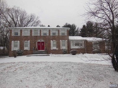 Montvale Single Family Home For Sale: 164 Chestnut Ridge Road