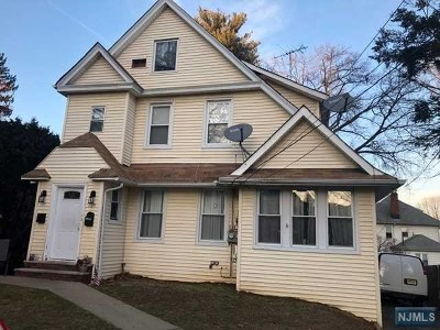 Hasbrouck Heights Multi Family 2-4 For Sale: 125 Franklin Avenue