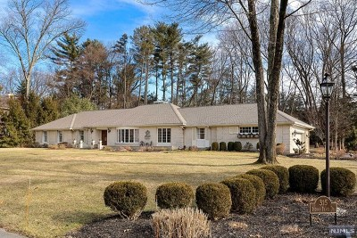 Franklin Lakes Single Family Home For Sale: 315 Indian Trail Drive