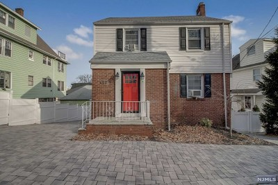 Edgewater Single Family Home For Sale: 607 Undercliff Avenue