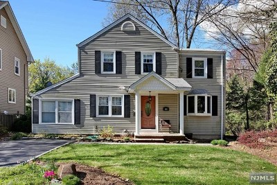 River Edge Single Family Home For Sale: 115 Kenwood Road