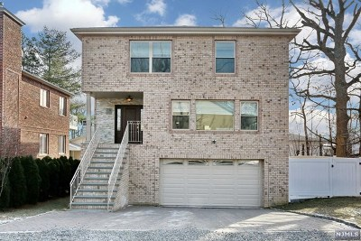 Englewood Cliffs Single Family Home For Sale: 9 5th Street