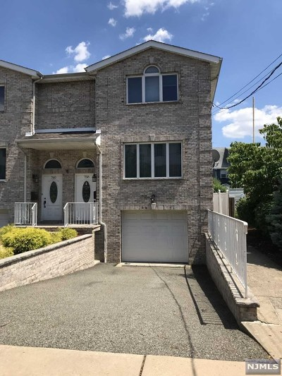 Secaucus Condo/Townhouse For Sale: 758 10th Street