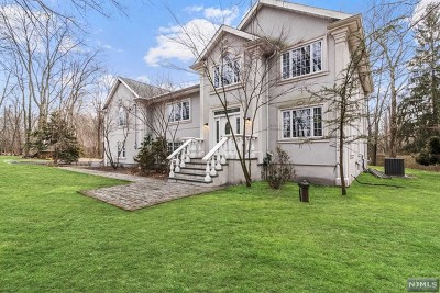 Franklin Lakes Single Family Home For Sale: 580 Franklin Lake Road