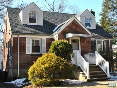 Closter Single Family Home For Sale: 500 High Street