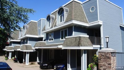 Cliffside Park Condo/Townhouse For Sale: 3 Columbus Place