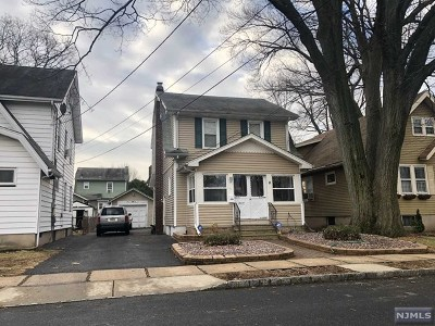 Bloomfield NJ Single Family Home For Sale: $189,000