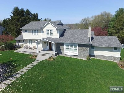 Upper Saddle River Single Family Home For Sale: 10 Partridge Hill