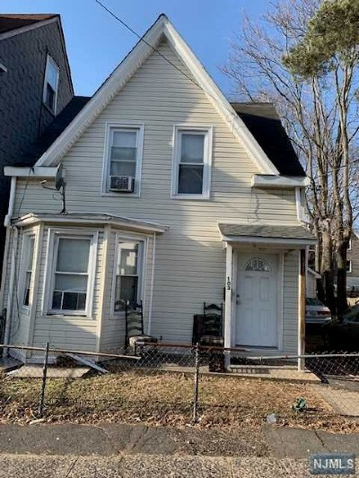Paterson Single Family Home For Sale: 103 North 7th Street