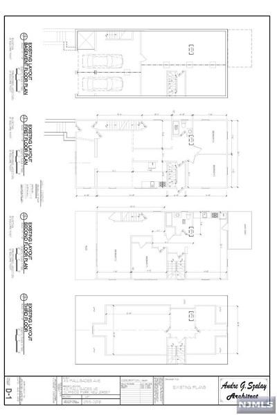 Cliffside Park Condo/Townhouse For Sale: 413 Palisade Avenue #A