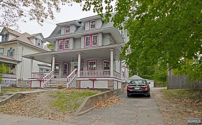 Rutherford Single Family Home For Sale: 12 West Park Place