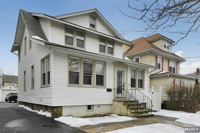 Bogota Single Family Home For Sale: 70 Linwood Avenue
