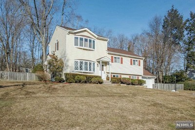 Waldwick Single Family Home For Sale: 25 Durante Road