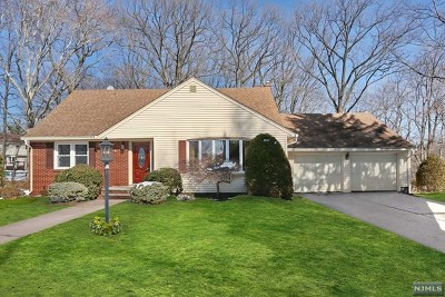 Oradell Single Family Home For Sale: 23 Amelia Court