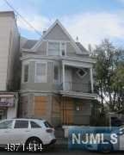 Paterson Multi Family 2-4 For Sale: 426 East 18th Street