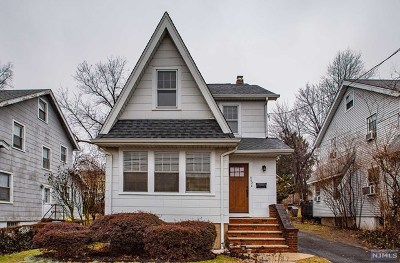 Teaneck Single Family Home For Sale: 662 Chestnut Avenue