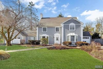 Englewood Single Family Home For Sale: 158 Hillside Avenue