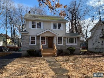 Teaneck Single Family Home For Sale: 1333 Teaneck Road