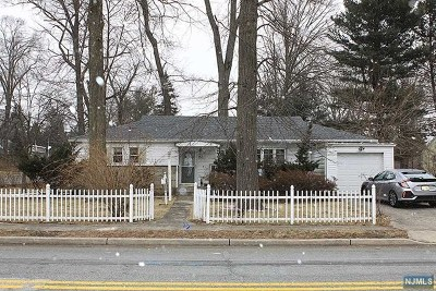Closter Single Family Home For Sale: 153 High Street