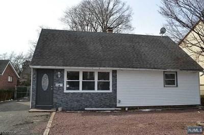 Rochelle Park Single Family Home For Sale: 29 East Passaic Street