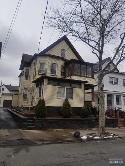 Passaic Multi Family 2-4 For Sale: 110 Van Buren Street
