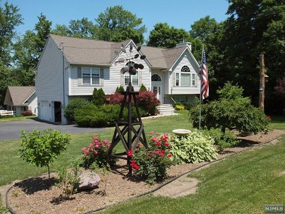 West Milford Single Family Home For Sale: 9 Cahill Cross Road