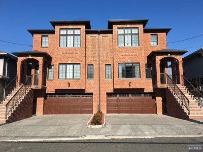 Fort Lee Condo/Townhouse For Sale: 1525 9th Street
