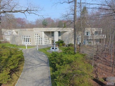 Saddle River Single Family Home For Sale: 3 Cameron Road