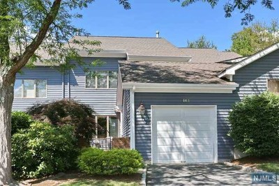 Mahwah Condo/Townhouse For Sale: 162 Fisher Road
