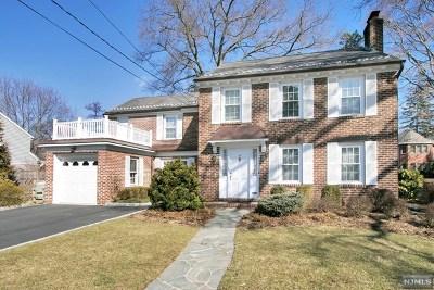 Tenafly Single Family Home For Sale: 45 Oak Street