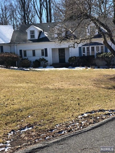 Upper Saddle River Single Family Home For Sale: 28 Drake Lane