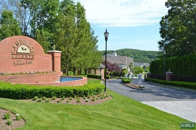 Morris County Condo/Townhouse For Sale: 157 Barrister Drive