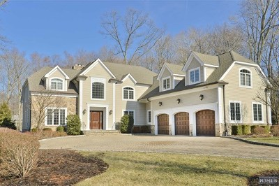 Saddle River Single Family Home For Sale: 45 Woodcliff Lake Road