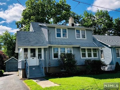 Hackensack Single Family Home For Sale: 652 Prospect Avenue