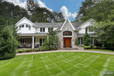 Upper Saddle River Single Family Home For Sale: 26 Millstream Road