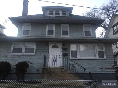 Paterson Single Family Home For Sale: 284-286 East 32nd Street