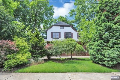 Leonia Single Family Home For Sale: 170 Prospect Street
