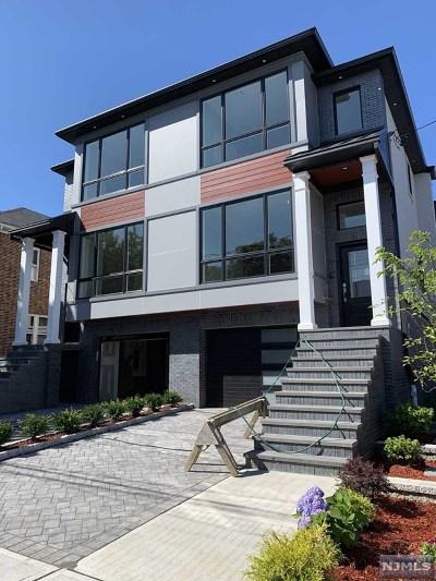 Cliffside Park Condo/Townhouse For Sale: 428 Nelson Avenue