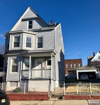 Paterson Multi Family 2-4 For Sale: 190-192 Carbon Street
