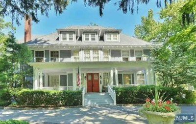 Tenafly Single Family Home For Sale: 315 Engle Street