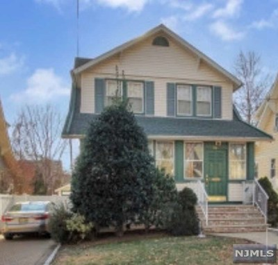 Bogota Single Family Home For Sale: 172 Linwood Avenue