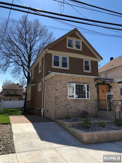North Bergen Single Family Home For Sale: 421 78th Street